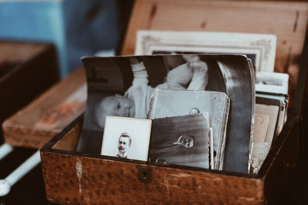 Old Photos in a box